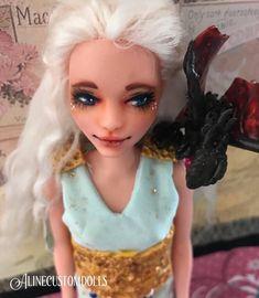 A personal favorite from my Etsy shop https://www.etsy.com/listing/593419269/daenerys-targaryen-custom-doll