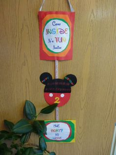 1000 images about mickey mouse clubhouse two dles party for Michaels crafts birthday parties