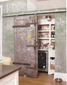 beautiful pantry...