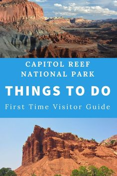 Capitol Reef National Park in Utah is a visitors paradise. There are so many things to do. Here's the scoop on the petroglyphs, the scenic drive and so much more! Read on for a great Capitol Reef National Park Road Trip. Capitol Reef National Park, Us National Parks, Utah Parks, Utah Vacation, Utah Hikes, Walking, Beautiful Park, Road Trip, Usa Travel