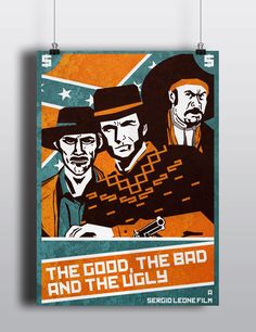 Sergio Leone's Dollars Trilogy Posters on Behance