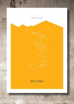 Alpe d' Huez_Classic climbs_ Champs Posters, Alpe D Huez, Rider Jeans, Bicycle Print, Bike Poster, Cycling Art, Bike Art, Graphic Design Posters, Business Planning