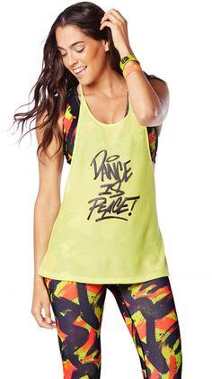 Dance Is Mesh Tank | Zumba Fitness Shop
