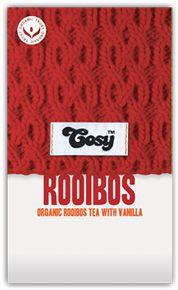 Cosy   Rooibos   Organic 'Redbush' Tea with Vanilla (naturally caffeine-free)