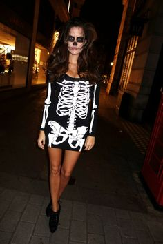 Halloween - The Londoner | How to be a the most fashionable skeleton. #halloweenWin @Rosie Londoner
