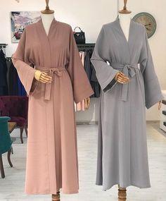 gripudra fiyat 100 krep kumas 145 cm boy kusakli kolay kullanim standart bedenarkasi duz mod - The world's most private search engine Abaya Fashion, Muslim Fashion, Modest Fashion, Fashion Dresses, Hijab Elegante, Hijab Chic, Hijab Style Dress, Hijab Outfit, Modest Wear