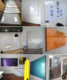 Frameless Magnetic, Dry Erase, Photo - Mood - Styling Board   Wall Scrawl ~ changing the look of the whiteboard