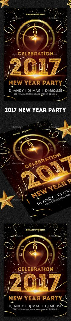 New Years Eve Free PSD Flyer Template - http\/\/freepsdflyer - new year brochure template