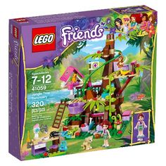 lego friends - jungle tree sanctuary (41059). $29.99.