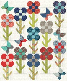 My Go-Go Life: Flower Stem Time for the Dandy Drive Sew Along!
