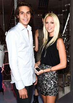 Flynn Busson and Princess Olympia of Greece #NYFW