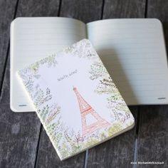 """Carnet """"South wind"""" - Tour Eiffel et branches"""
