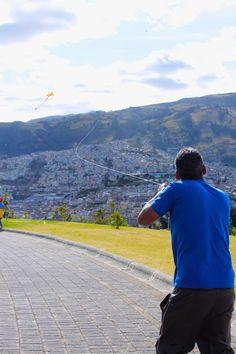 Cometa kite Itchimbia