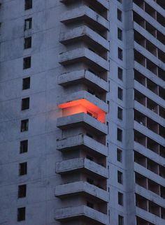BBQ on the balcony (byfernlicht)