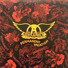 Aerosmith Permanent Vacation 1987 Vinyl LP Record Album