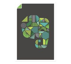 Elephant Poster | Evernote Market