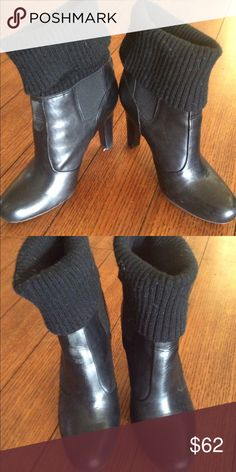 DKNY leather Booties Like new didn't wear have just been in my closet Size 7 DKNY Shoes Ankle Boots & Booties