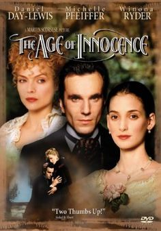 The Age of Innocence ~ directed by Martin Scorsese, starring Daniel Day-Lewis, Michelle Pfeiffer & Winona Ryder. Beautiful movie about an excellent age. Winona Ryder, Martin Scorsese, The Age Of Innocence, Streaming Movies, Hd Movies, Movies Online, Hd Streaming, Indie Movies, Vintage Movies