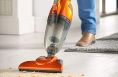 VonHaus 2 in 1 Corded Lightweight Stick Vacuum Cleaner and Handheld Vacuum Bagless with HEPA Filtration, Crevice Tool and Brush Accessories - Ideal for Hardwood Floors. Get The Best Vacuum, Buy Now! Best Cheap Vacuum, Best Vacuum, Upright Vacuum Cleaner, Handheld Vacuum Cleaner, Vacuum Cleaners, Best Lightweight Vacuum Cleaner, Vacuum Reviews, Cool Dorm Rooms, Carpet Trends