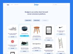 Budgee UI by Sam Stratton #Design Popular #Dribbble #shots