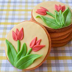How to Make Tulip Cookies