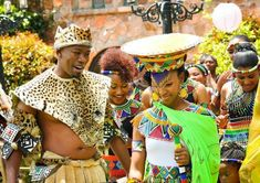 First off we would start with South Africa weddings by looking into the Zulu tribe. The Zulu tribe are Bantu ethnic group of South Africa, Zulu Traditional Attire, Zulu Traditional Wedding, African Traditional Dresses, Traditional Outfits, Zulu Wedding, Wedding Ceremony, African Traditions, South African Weddings, African Print Fashion
