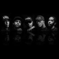 Cast of Straight Outta Compton