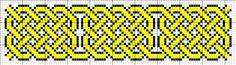 Celtic knot tapestry pattern