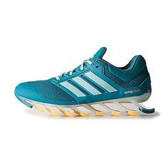 Adidas Springblade Drive Womens C75668 Teal Running Shoes Sneakers Wmns Size 7.5
