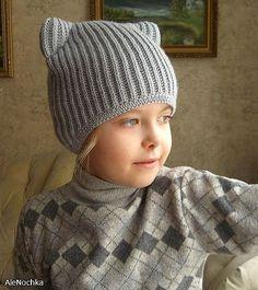Новости Ems Boots, Cat Hat, Knitted Hats, Crochet Hats, Knit Crochet, Winter Hats, Baby Hats, Headbands, Rubrics