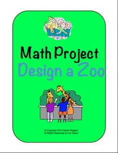 Math Project--Design a Zoo! - More Than a Worksheet - TeachersPayTeachers.com