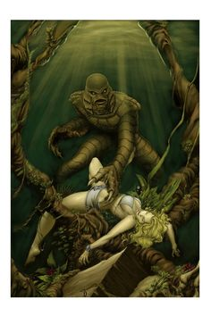 Creature from the Black Lagoon by Mike McKone *