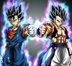 What would happen if Gogeta and Vegito were in the RWBY world Dragon Ball Image, Dragon Ball Gt, Kid Buu, Gogeta And Vegito, Manga Dragon, Ball Drawing, Dragon Warrior, Me Anime, Animes Wallpapers