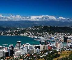 Wellington is the capital city and second most populous urban area of New Zealand. It is at the southwestern tip of the North Island, between Cook Strait and the Rimutaka Range. Wellington City, Wellington New Zealand, Beautiful Sites, Beautiful Places, Great Places, Places To See, Amazing Places, Capital Of New Zealand, Costa Rica Travel