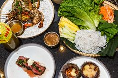 Acclaimed Madame Vo Team Fires Up a Vietnamese Barbecue Party Restaurant Manhattan Restaurants, Nyc Bucket List, Dominique Ansel, Fine Dining, Barbecue, Menu, Ethnic Recipes, Food, Essen