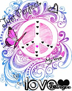 peace signs gifs | Peace Sign Drawn Picture #128260864 | Blingee.com Peace Sign Drawing, Peace Sign Art, Peace Signs, Lisa S, Lettering Styles, Love Is Free, Art Pages, Hippie Chic, Art Google