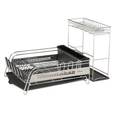 Sabatier Dish Rack Entrancing Simplehuman Steel Frame Dishrack $70  Products I Love  Pinterest 2018