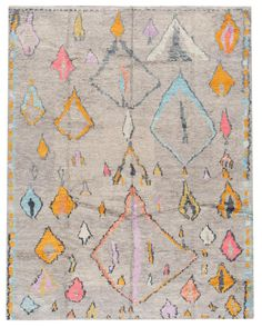 A hand-knotted modern Moroccan style rug with an all over design. This one of a kind piece has great details and colors. It would be the perfect addition to your home. This rug measures x Rug Moroccan Style Rug, Modern Moroccan, Moroccan Rugs, Nursery Area Rug, Carpet Trends, Pink Rug, Modern Rugs, Modern Carpet, Tribal Rug