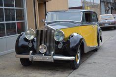 1951 Rolls-Royce Silver Wraith Hooper Limousine -