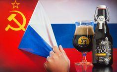 """Page 24 Imperial Stout Russian (brasserie St Germain - France) -  Calendrier de l'après """"Une petite mousse""""  Bières artisanales françaises -  Russian imperialism..."""