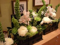 table flower arrangements | large arrangements for the sign in table etc.