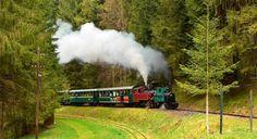 historic steam railway in slovakia, ciernohronska zeleznica, central slovakia tour