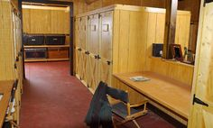 These tack room is only for the famous boarders or I should say the show boarders