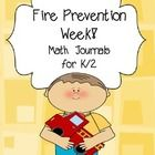 Math Journals are the perfect way to get your kids reading, writing and thinking about math.  Enjoy ten prompts based on your Fire Prevention Week/F...
