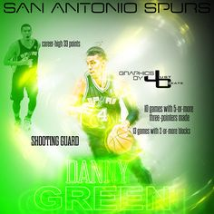 Danny Green graphics by justcreate Sports Edits