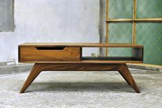 Mid Century Modern Coffee Table With Drawers : Mid Century Coffee ...