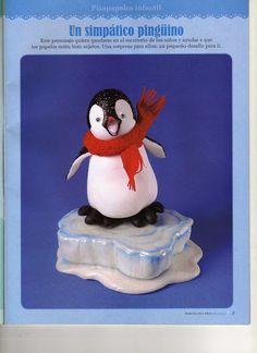 пингвин,penguin,Tučňáci,pinguino, - Мастер-классы по украшению тортов Cake Decorating Tutorials (How To's) Tortas Paso a Paso