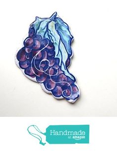 Grapes Spoon Rest in Majolica Ceramic -a from Cosmic Mermaid…