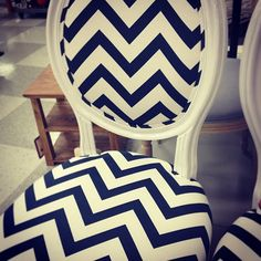Chevron Chairs J. Crew Review | Instagram