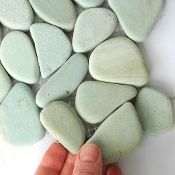 This stone looks SO soft and pretty! Miniature Garden Stone Patio Sheets, Blue | #miniaturegarden pinned with Pinvolve - pinvolve.co